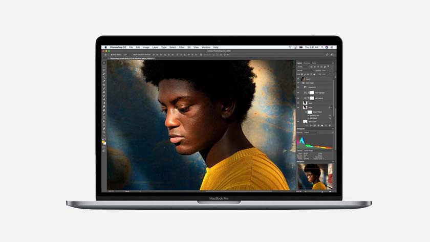 Apple MacBook voor foto- en videobewerking