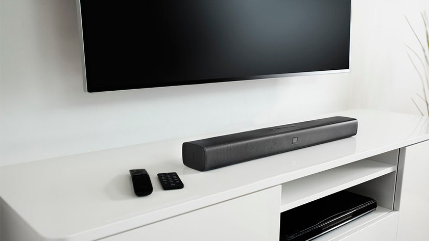 Step 2: connect the soundbar to your television