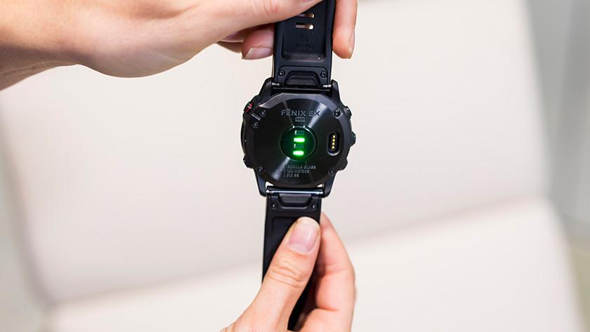 Wrist sensor with LED lights