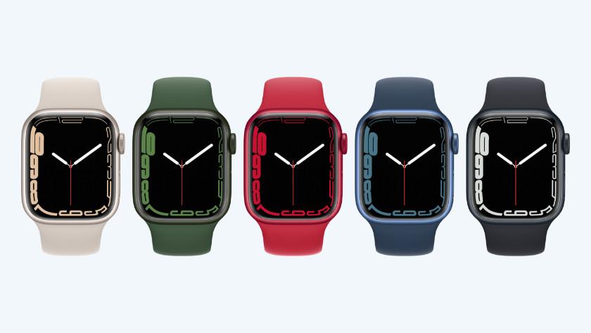 Apple Watch Series 7 kleuren