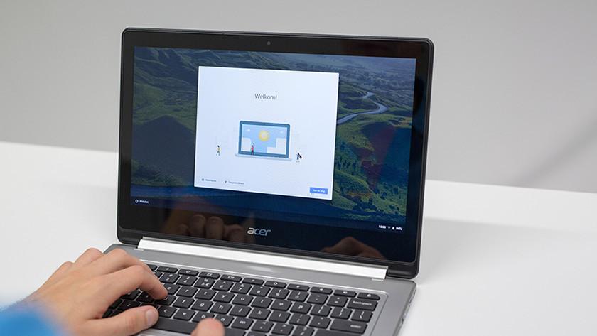 Chromebook installeren.