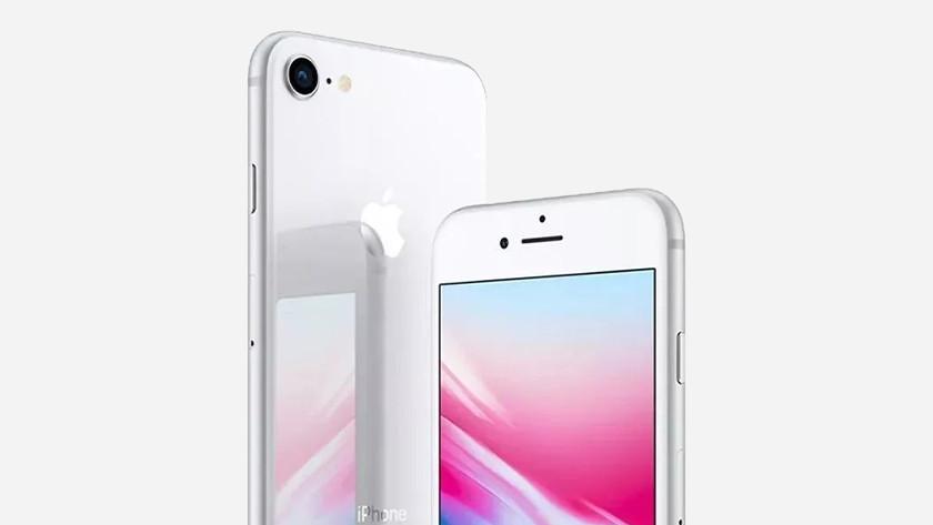 iPhone 8 zilver