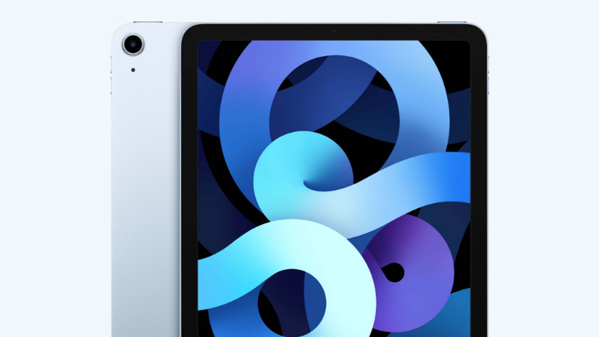 iPad Air (2020) scherm en achterkant
