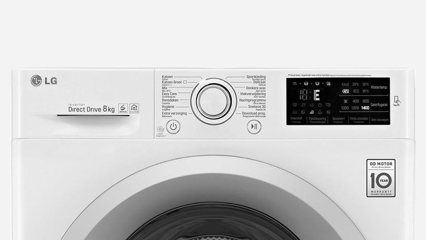 LG wasmachine foutcode