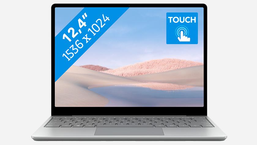 Microsoft Surface Laptop Go.