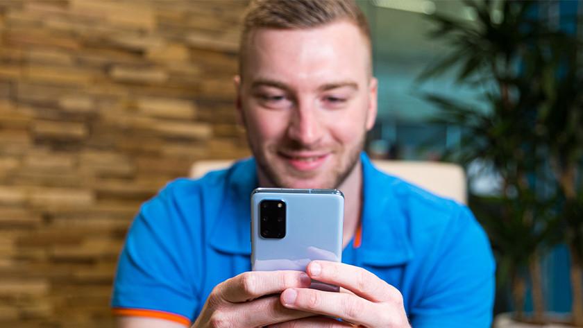 Updates smartphone