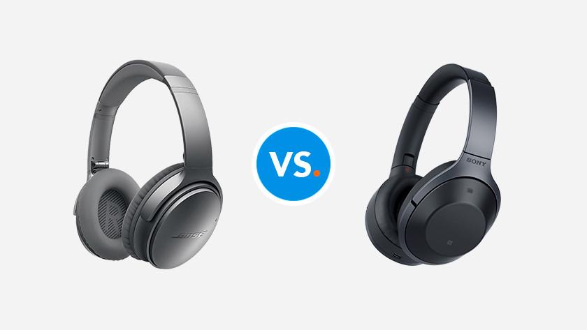Comparing headphones