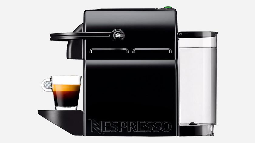 Nespresso naspoelen