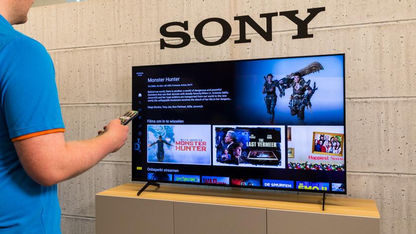 Bravia Core op de Sony X90J