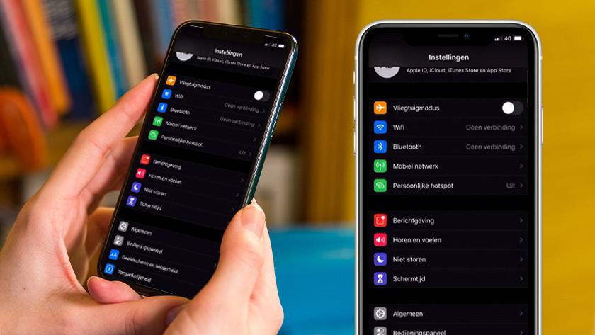 Open 'Instellingen' op je iPhone.