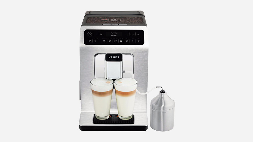 Clean Krups milk system