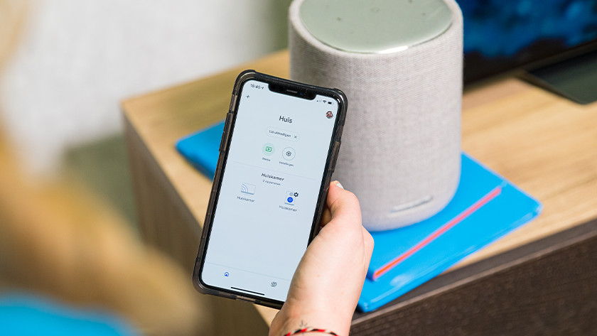 Bediening via Google Home
