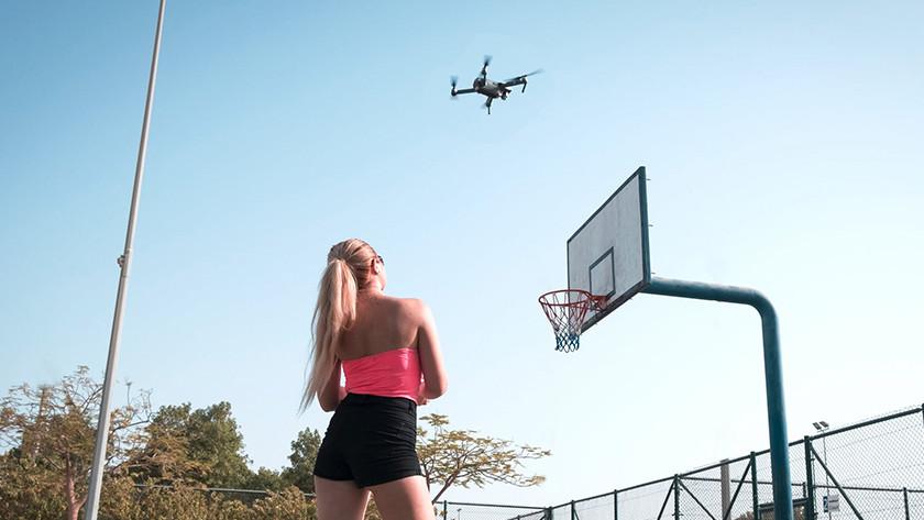 Drone vliegmodi  point of interest