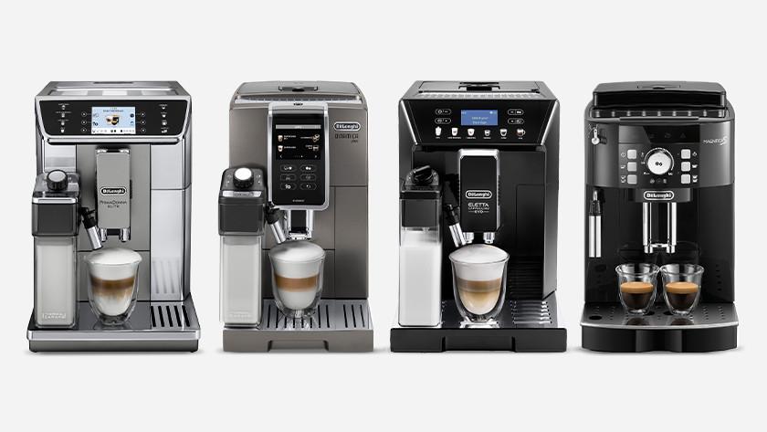 De'Longhi volautomatische koffiemachine kiezen