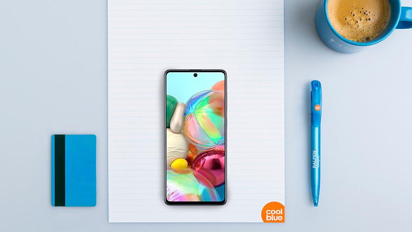 Samsung Galaxy A71 size