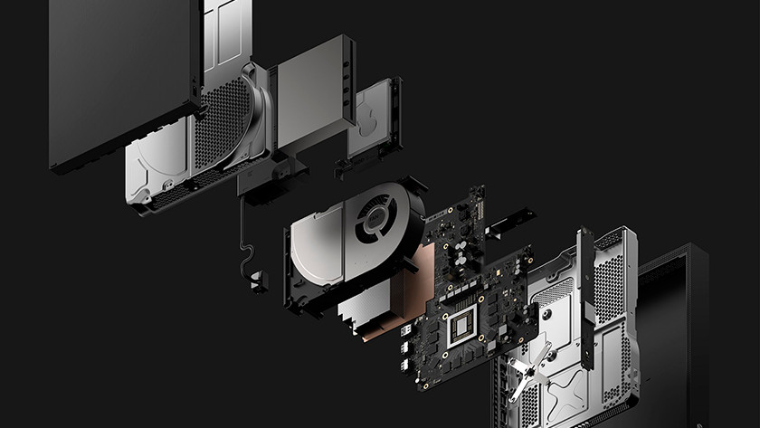Xbox One X breakdown