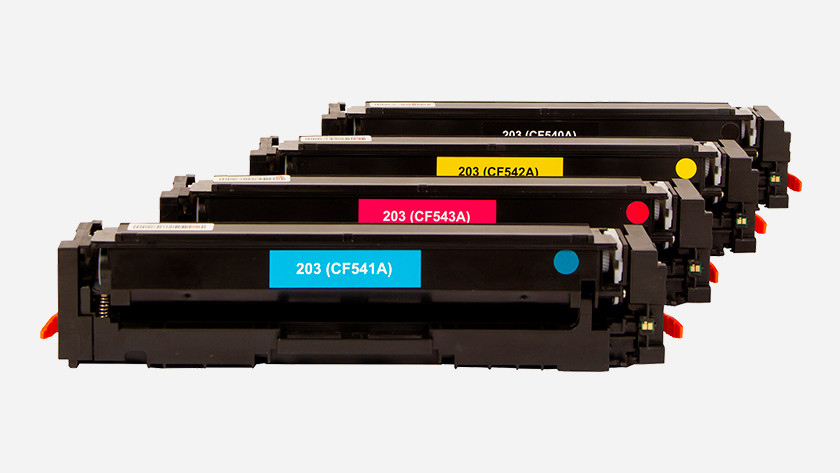 Laserprinter toners