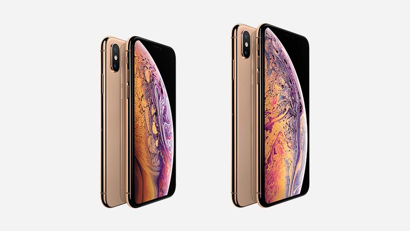 iPhone Xs en iPhone Xs Max Goud