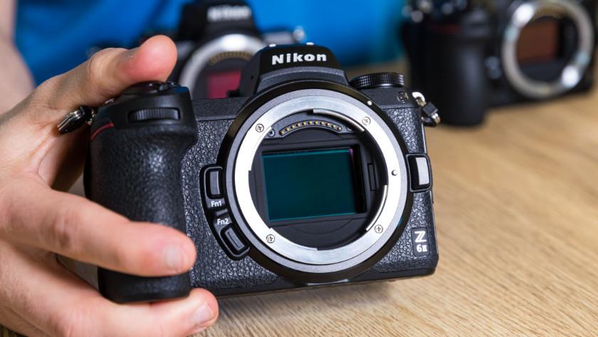 Vergelijkingen met Nikon systeemcamera's