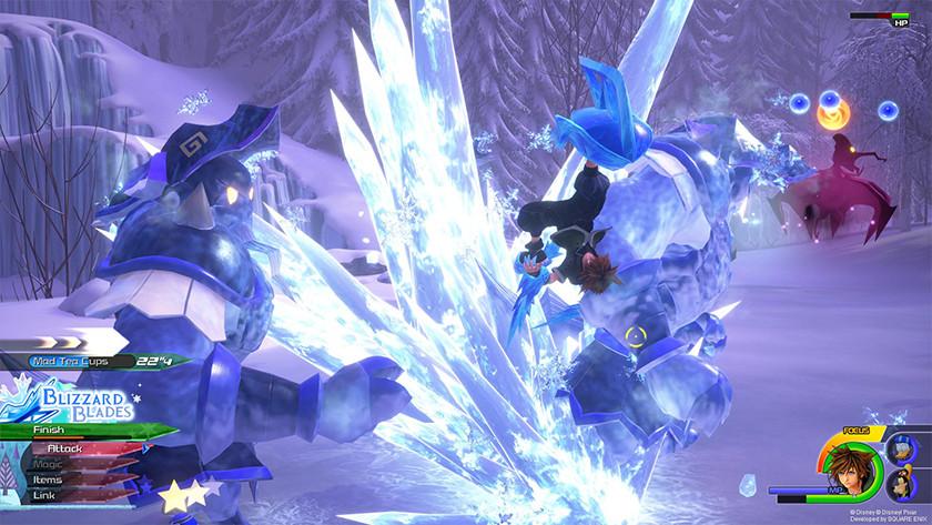 Nieuwe magie in Kingdom Hearts 3