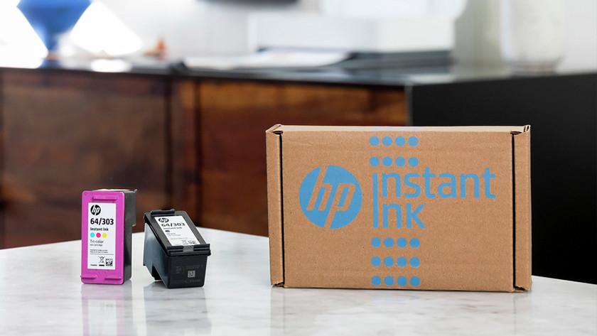 HP Instant Ink steps
