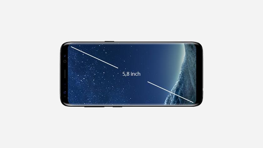 S8 scherm