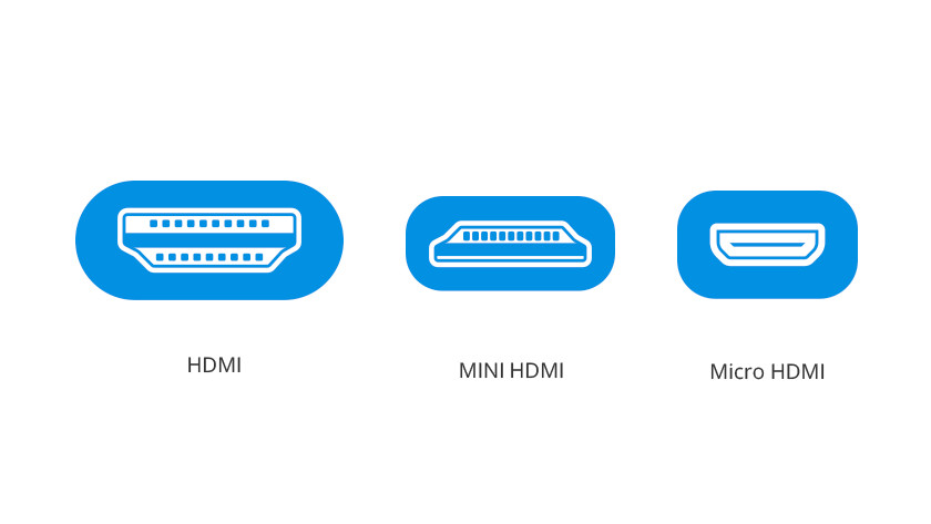 HDMI connections