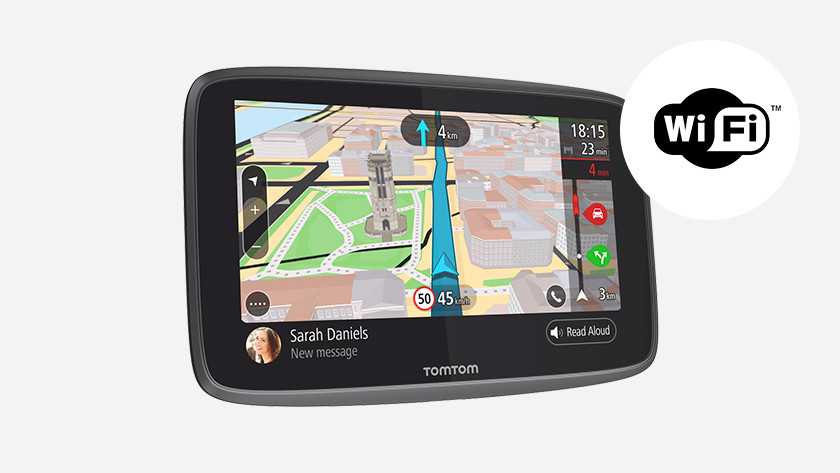Car navigation with WiFi