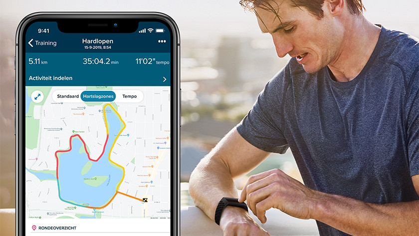 Fitbit Charge 4 GPS app