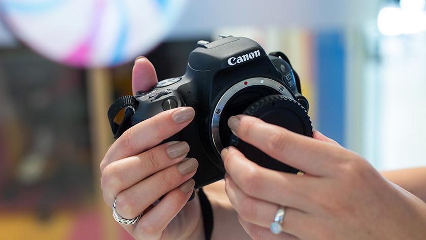 Canon camera's aan de slag