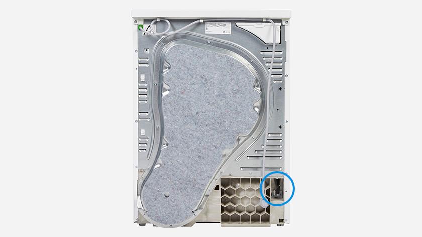 Beroemd Hoe sluit ik mijn wasdroger aan op de waterafvoer? - Coolblue IH26