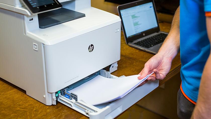 Printer voorbereiden
