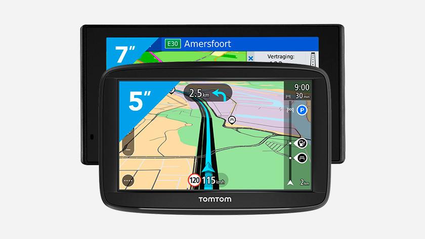 Schermformaat navigatie