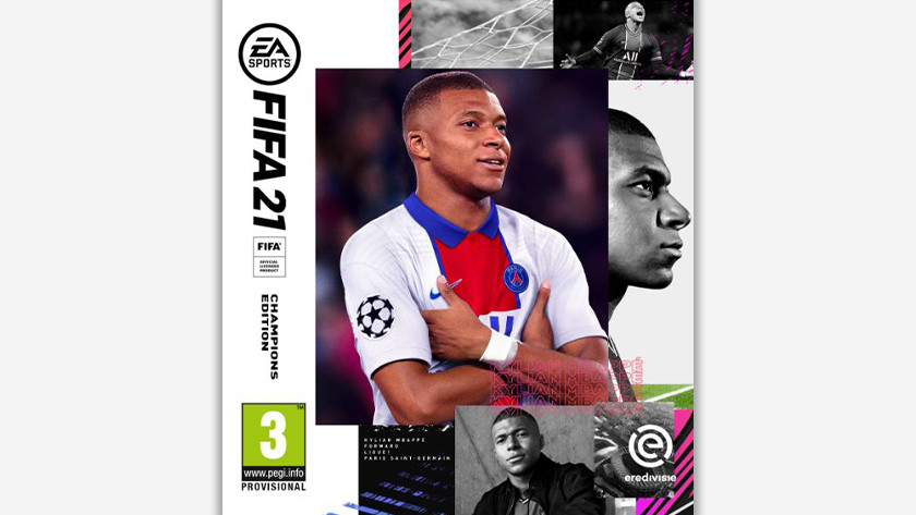 FIFA 21 Champions Edition.
