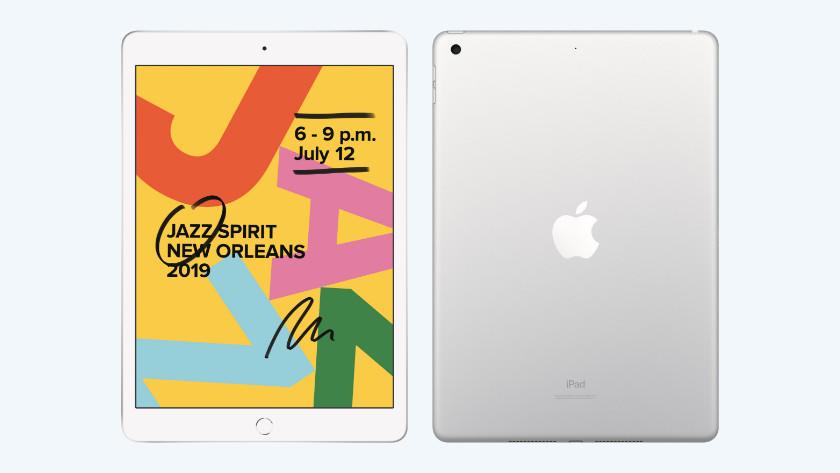 iPad 2019 voorkant en achterkant