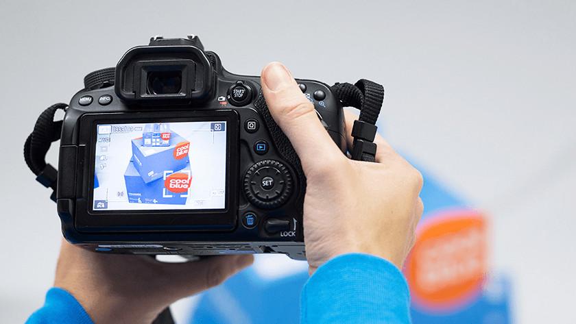 Vergelijkingen met Canon spiegelreflexcamera's