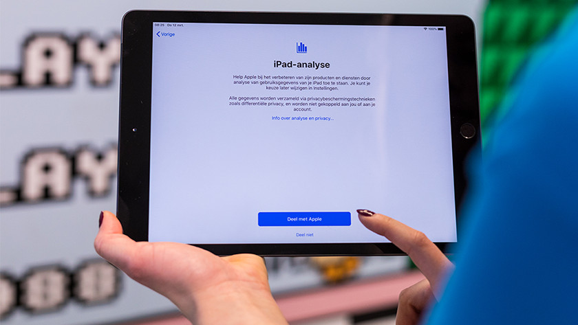 iPad preferences