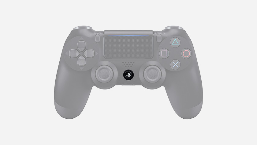 PS4 button