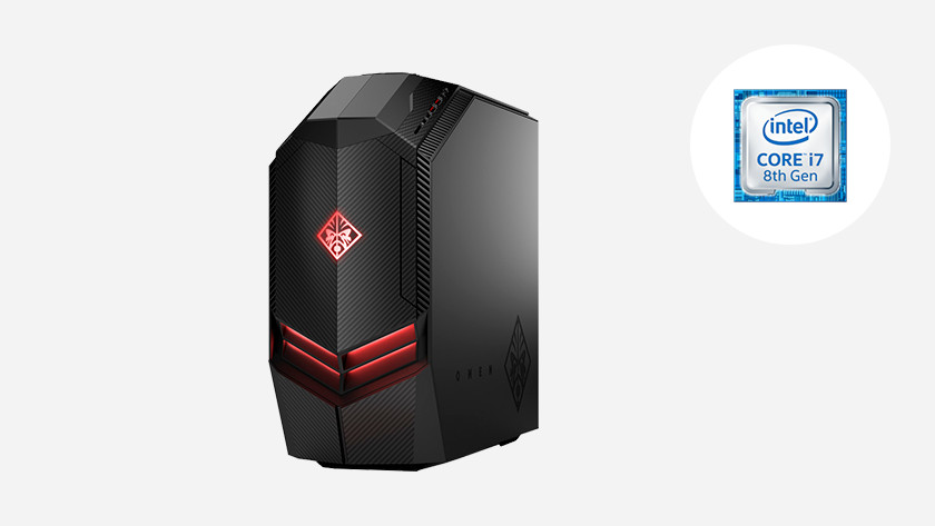 HP Omen PC with Intel Core i7 icon.