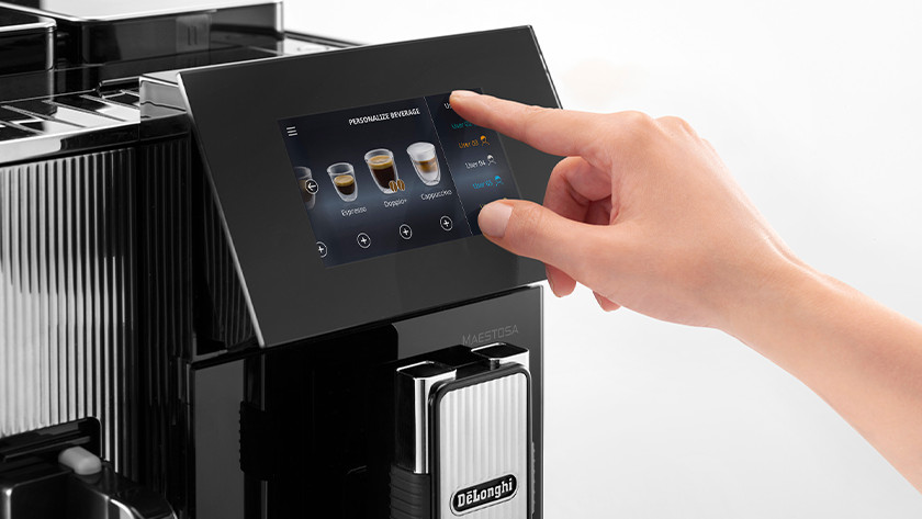 Volautomaat: met één druk op de knop