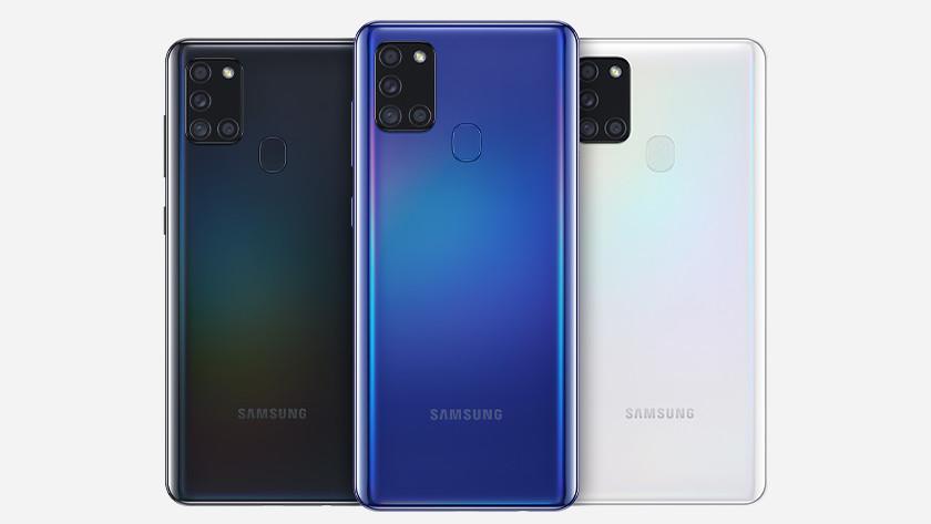 Samsung A21s vs Samsung A41 snelheid batterij