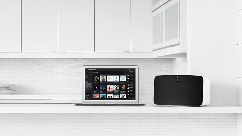 Sonos speaker at home