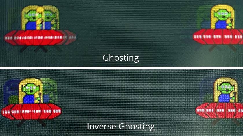 Ghosting vs inverse ghosting