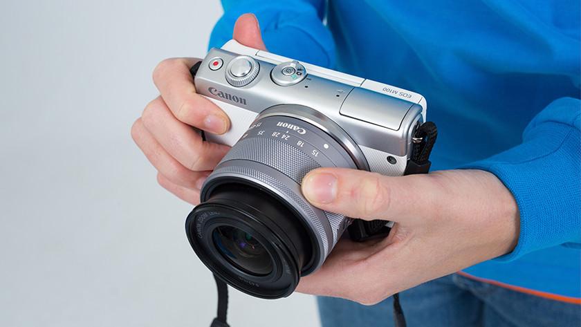 Vergelijkingen met Canon systeemcamera's