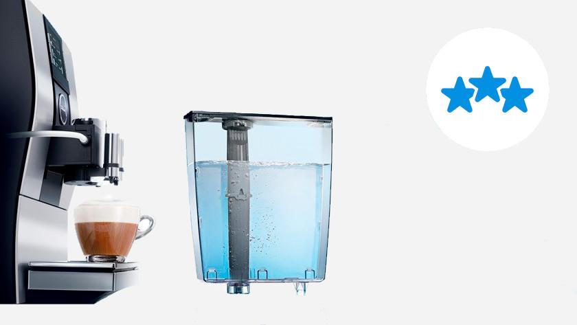 Koffiemachines met veel onderhoudsgemak