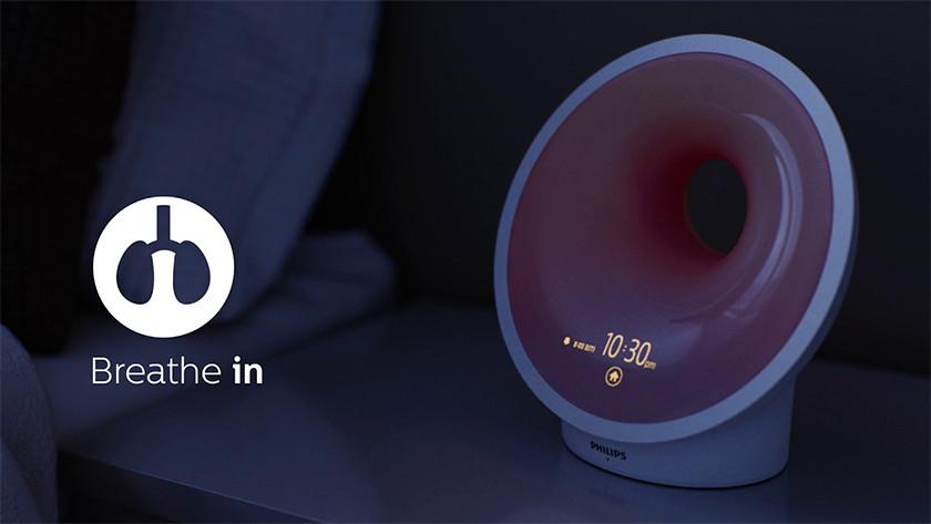 Philips Somneo HF3672/01 en ontspannen