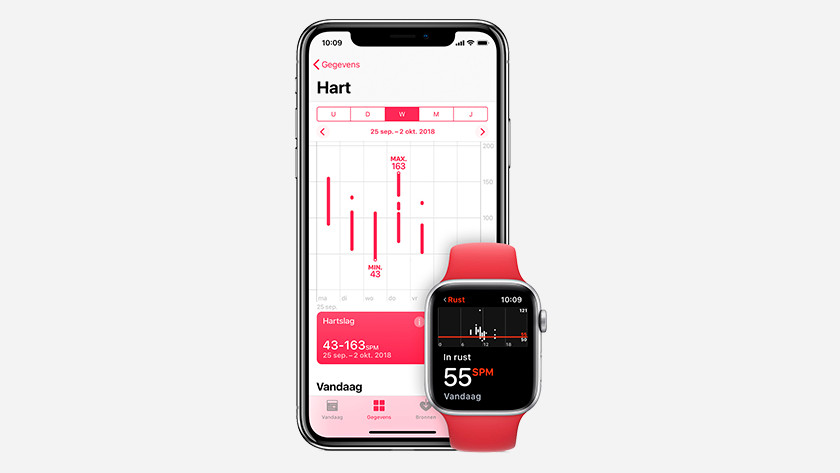 Hartslag meten op Apple Watch