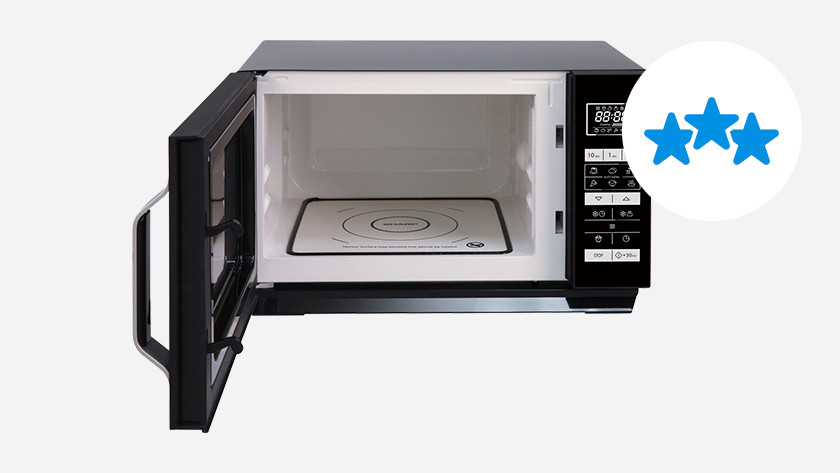 Build quality of microwaves