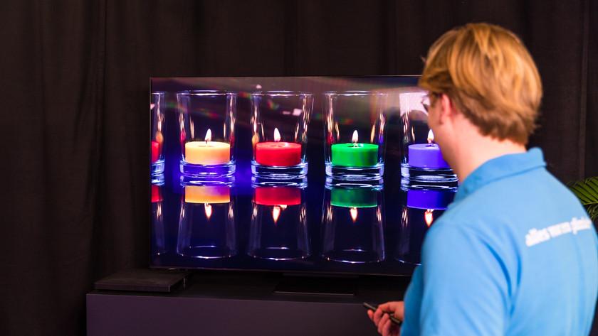Kleurrijke beelden van de Samsung QN92A