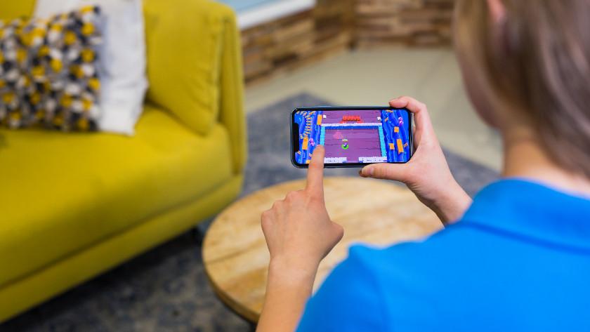 Spelletjes op iPhone